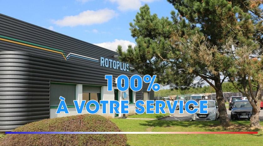 Rotoplus 100% à votre service